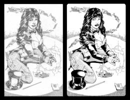 Zatanna Letters by Marcio Abreu revisited by TheInkPages