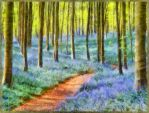 The blue forest... by rhipster