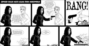 Edward vs Underworld's Selene by pippin1178