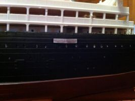 RMS Lusitania 1:350 Scale pt6 by Crystal-Eclair