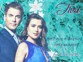 NCIS Ziva and Tony Wallpaper by penelopeziva