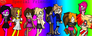 142 - Special Friends by LouisaColler