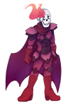 Anti-hero Papyrus by Chaos55t