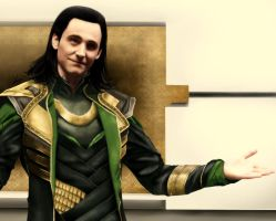 '...Now you come to visit me, brother?' (Loki) by 0-Marimo-0
