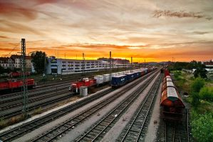 Trains by aloxey