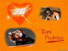 Dani Pedrosa Wallpaper by IsK4nD3R