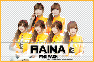[PNG-PACK] Raina (Orange Caramel) by babykidjenny