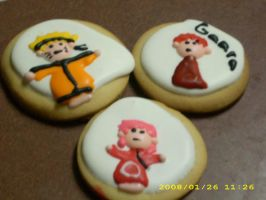 Belive it Naruto Cookies by MissTopaz