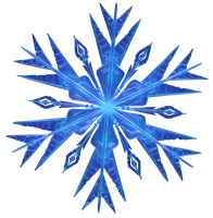 Frozen Snowflake - Vector by Simmeh