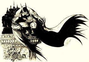 BATMAN by SCHIATTAMUORT