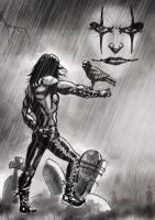 The Crow by ozzyfreeloader