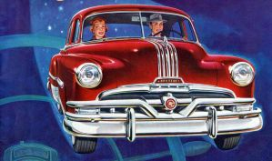 age of chrome and fins : 1950-53 Pontiac by Peterhoff3