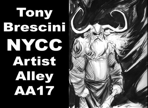 New York Comic Con by TonyBrescini