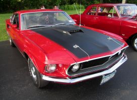 (1969) Ford Mustang by auroraTerra