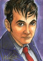 The 10th Doctor - PSC by Marker-Mistress