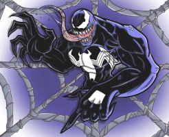 Venom Web by Lucidious89