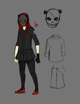 :Riley reference sheet: by Arcana-break