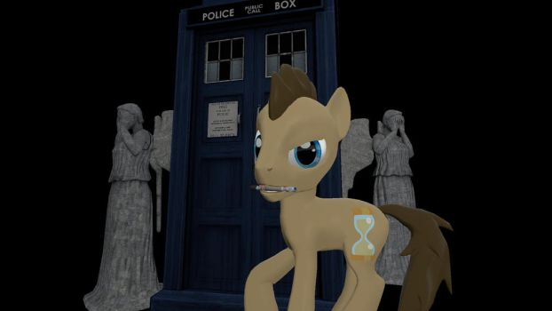 Doctor Whooves and the Weeping Angels by jarelkortan