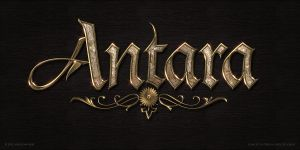 Antara logo by Deligaris
