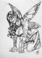 Steam Punk Fairy By DW MIller by ConceptsByMiller