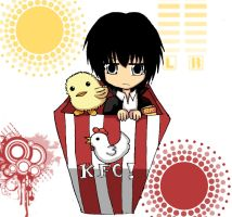 KHR_Hibari chicken box by Haoiki
