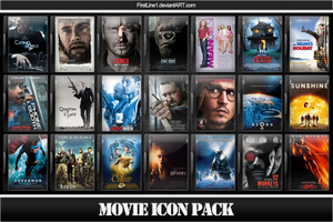 Movie Icon Pack 19 by FirstLine1