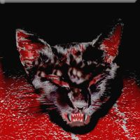 Halloween satanic cat by philippeL