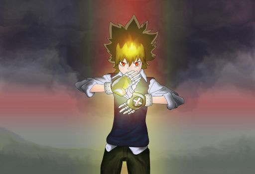 The 10th Vongola Boss by Jinrikagero