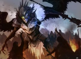 Brotherhood Ravenlord by TSRodriguez