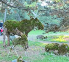 Mosaic Living Sculpture - Caribou by Kitteh-Pawz