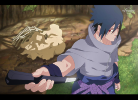 Sasuke Enters the Battlefield by SilverCore94