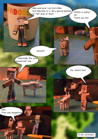 Far Lands or Bust! The papercraft episode by glaasje