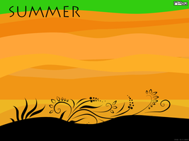 Summer wallpaper by MPow