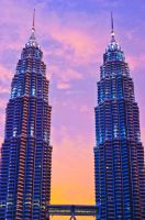 evening in KLCC by SyazwanAQ