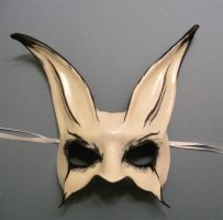Gothy Rabbit Leather Mask by teonova