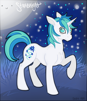 (MADE BY: DEZY-X29) Starbright At Night by TwilightIsMagic