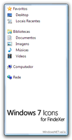 Windows 7 Icons for FindeXer by WindowsNET