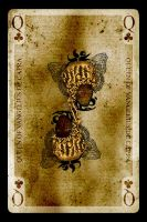Queen of Clubs by CreativeBox