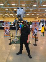 NF Comicon : Me and Star Wars AT-ST by TheWarRises