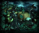 PumpkinCleaning-1 by Charmadige
