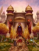 wow: Silvermoon City by AH4