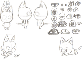 Animal Crossing - Cat ref. by 050294