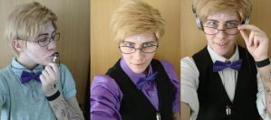 Cecil palmer different outfits 2 by FoxGirl001-of-DoomXD