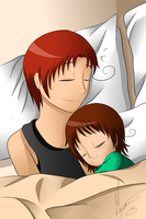 Father/Daughter Siesta by DiRosso