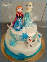 Frozen Cake by 6eki