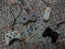 Controller Charms by MLEann