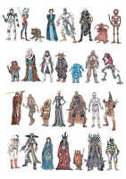 Star Wars Character Collection by Joanna-May