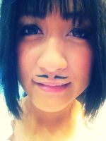 Mustache anyone? :3 by m1ndr34d3r