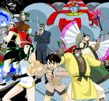 Giant Robo  Experts of Justice by maiyeng