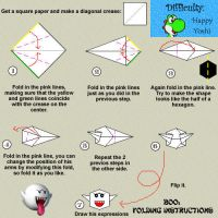 Boo: Folding Instructions by TeeheeXD